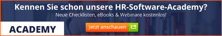 Academy HR Software Vergleich
