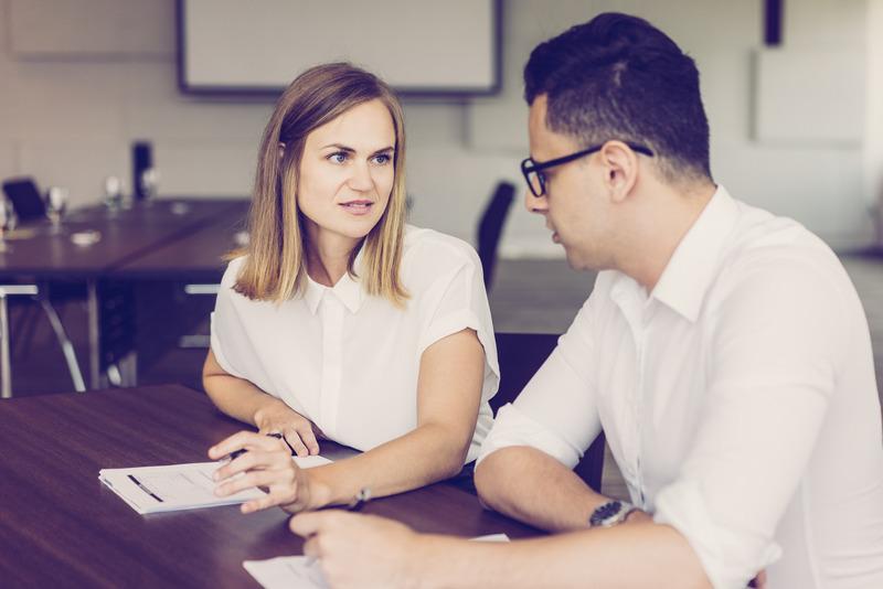 Mitarbeitergespräch kennenlernen