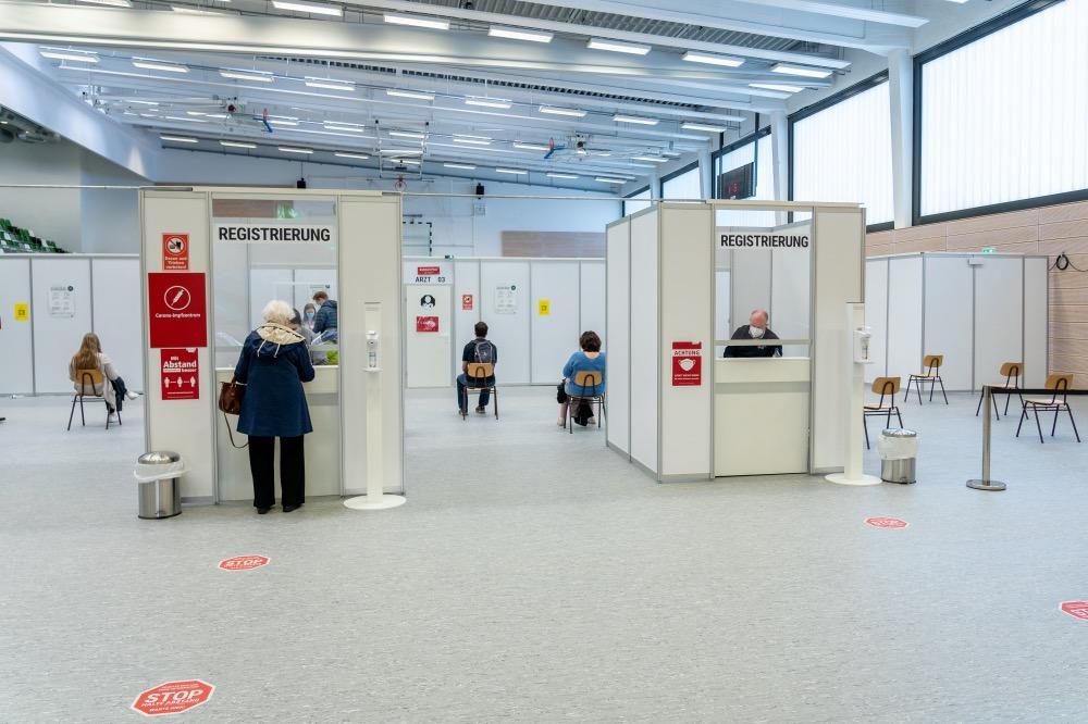 Besuch im Impfzentrum Osnabrück